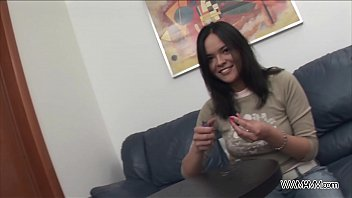 Ass fisting before hardcore fuck for young brunette teenager 25 min