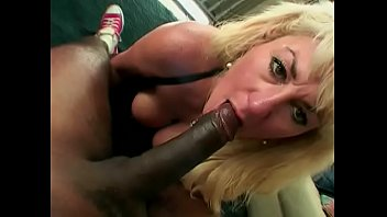 Mature ramstudious white blonde Dana Hayes with big jugs is going down and doing tricks with black man