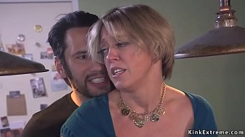 Grown dude rough anal fuck Milf porno izle