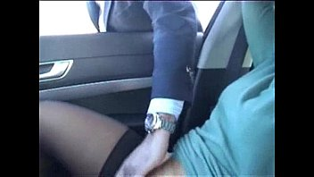 Exhibition of my whore in car fingered by stranger. Public nudity 3分钟