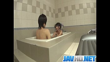 Japanese Doll Blows Cock In The Tub And Swallows A Warm Load