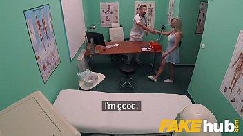 Fake Hospital Fast fucking gives blonde big tits Brit multiple orgasms porno izle
