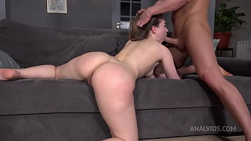 Mia Piper And Her First DP With Super Hero Fuckerman And The Villainous Punisher (FAP)! Slaps, Hard, Spit NRX099