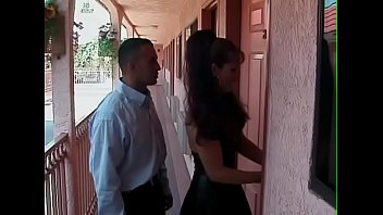 Mature latina fucks young latino in motel nylons stockings in lingerie