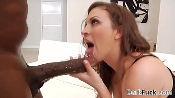 Lily Love is very excited to get a BBC