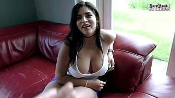 Step Daughter with Big Tits Dares Dad to Not Get Hard - Gabriela Lopez