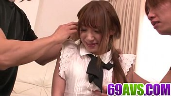 Harsh Pleasures For Ayaka Fujikita In Nasty Threesome