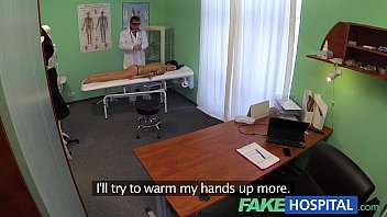 FakeHospital Doctor gives a strong orgasm to fit young girl for her birthday thumbnail
