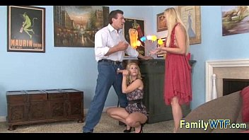 Mom and daughter threesome 1219