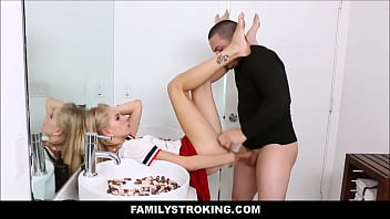 Teen Step Sister Fucked By Mean Brother 8 min