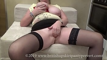Amazing tit wanks British granny with amazing tits gets perved
