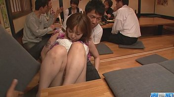 Adult orientated material - Minami kitagawa foursome ends in an asian cum facial