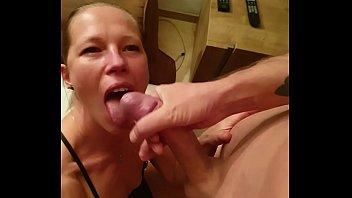Belgian milf gives amazing blowjob