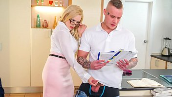 Teachers fuck there students - Kinky tutor - hot milf angel wicky seduces bangs student
