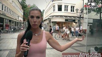Deutsche Milf schleppt mann ab beim Casting zum ficken