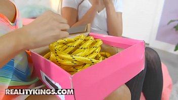 Moms Bang Teens - (Tegan James, Nova Brooks, Bambino) - Tied Me Up - Reality Kings