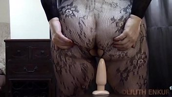 Biggest asshole stretched - Stretching my tight asshole