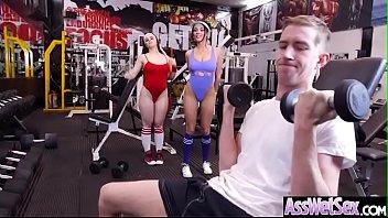 Anal Hardcore Sex With Hot Slut Big Ass Oiled Girl Anissa Kate & Nekane Sweet video09