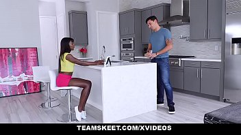 teenpies – tight ebony bitch vagina gets creampied – teen porn