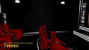 Imvu Black Market Room 069 Sinful Cinema Movie Theater thumbnail