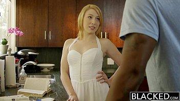 BLACKED  Blonde Babysitter Trillium Fucks her Black Boss 11 min