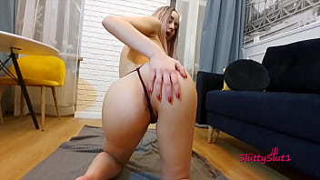 Hor girl is getting fucked on sofa, doggy, atm, anal