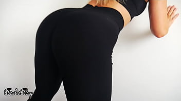 Fitness Babe Makes Me Cum in Her Panties and Yoga Pants