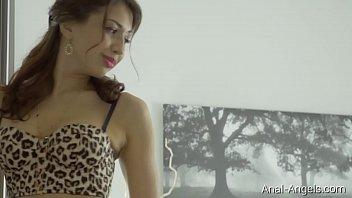 Anal-Angels.com -JordanLuxury Leopard Lingerie