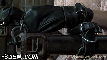 Villein receives lusty ass whipping previous to pussy torturing
