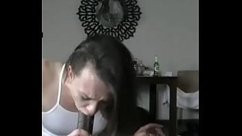 White Girl Sucking BBC