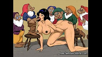 Cartoon orgy comics Snowwhite and dwarfs hentai orgy