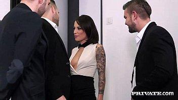 Nikita Bellucci Gets Double Anal in a POV Gangbang 10 min
