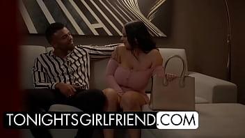 Tonight's Girlfriend - Busty Payton Preslee spends the night fucking her fan