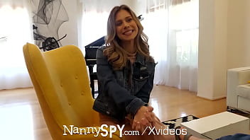 NANNYSPY Lying Nanny Creampied By Boss