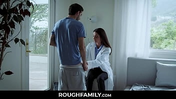 Supportive Doctor Milf Examines her Son - RoughFamily.com