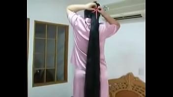 Chinese longhair girl  of Guinness 60秒