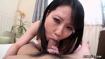 Brunette Asian with perky boobs gets fucked pov 8 min