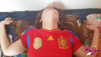 Spaniard Horny Teen helps him to lost his virginity  Creampie