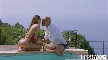 Tushy Ibiza Model Loves To Be Gaped