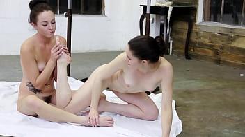 Foot Fetish Ballerina Lesbians HD