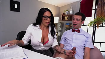 Lilith Morningstar Gives JohnnyTheKid Private Italian Lessons