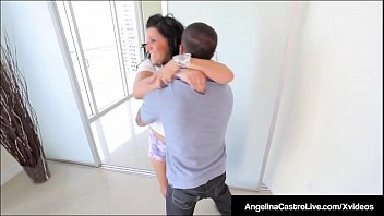 Cuban BBW Angelina Castro Pussy Pounded & Mouth Fucked!