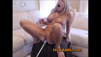 Mature Busty Blonde Fucked By SexMachine