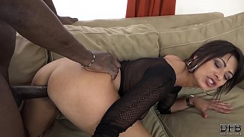 Hard interracial fuck for horny milf with nice wet pussy