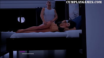 Milfy City Linda Part 2 Blowjob - ASMR - Cumplay Games 9 min