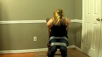Blonde Girl Has To Give Blowjob To Escape Her Bondage 18 min