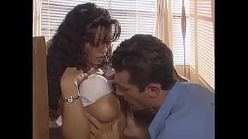 Angry man beats the hell out of shagger of his stunning y. will-o'-the-wisp latin wife with big tits Mason Storm