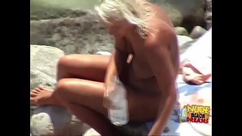 Girls sunbathe and suck cocks on the beaches
