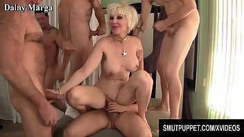 Smut Puppet - Mature Cumsluts Getting Gangbanged Compilation Part 2
