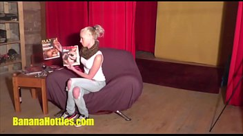 Two young teens casting